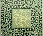 Green Leopard Table Detail